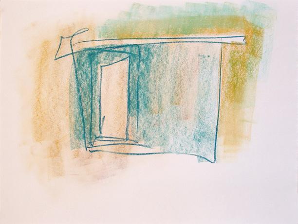 ":Blue-Green Cabin"" - Carraher 2007"