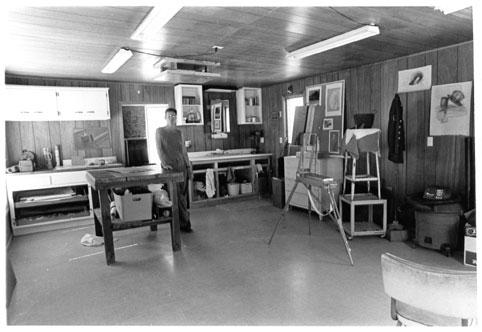 Magicgroove Studio 1999-2000 (Photo by Robert McClay)