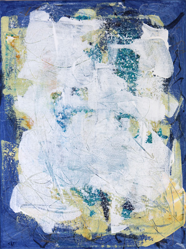 """Prayer Flag (Indigo)"" - Carraher 2020"